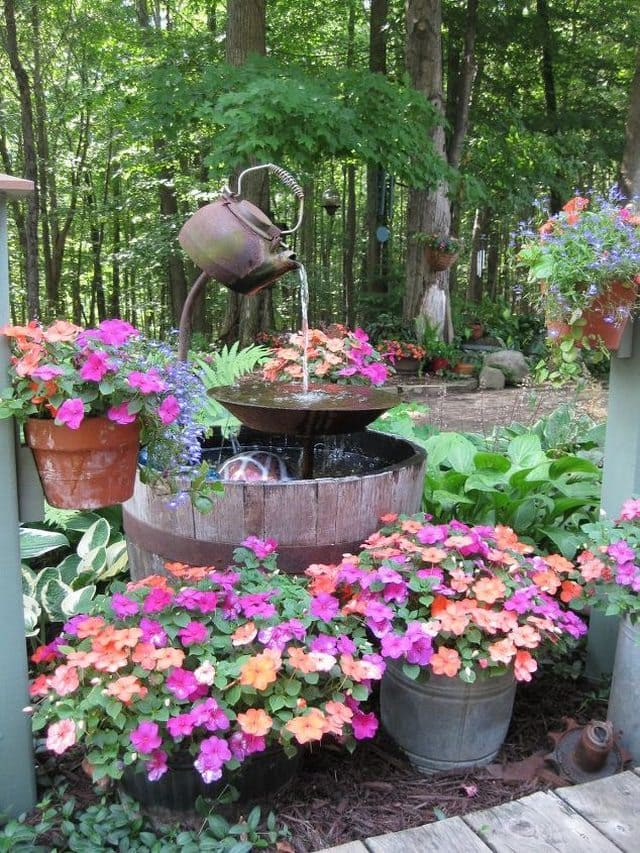 Garden Fountain projects