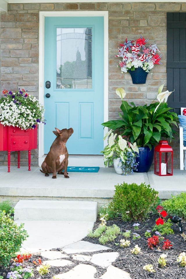 Flower-ful Front Porch