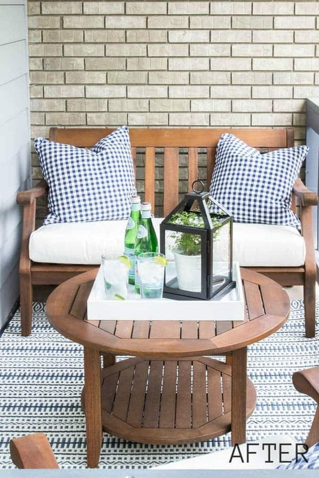 Front Porch Seating for Small Spaces