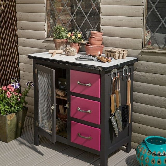 Reuse Old Cabinets