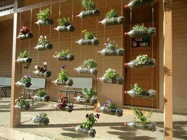 Vertical String Planters