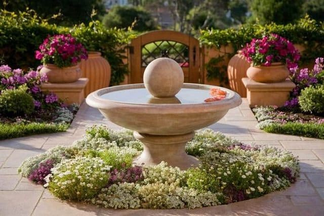 Water Fountain Centerpiece