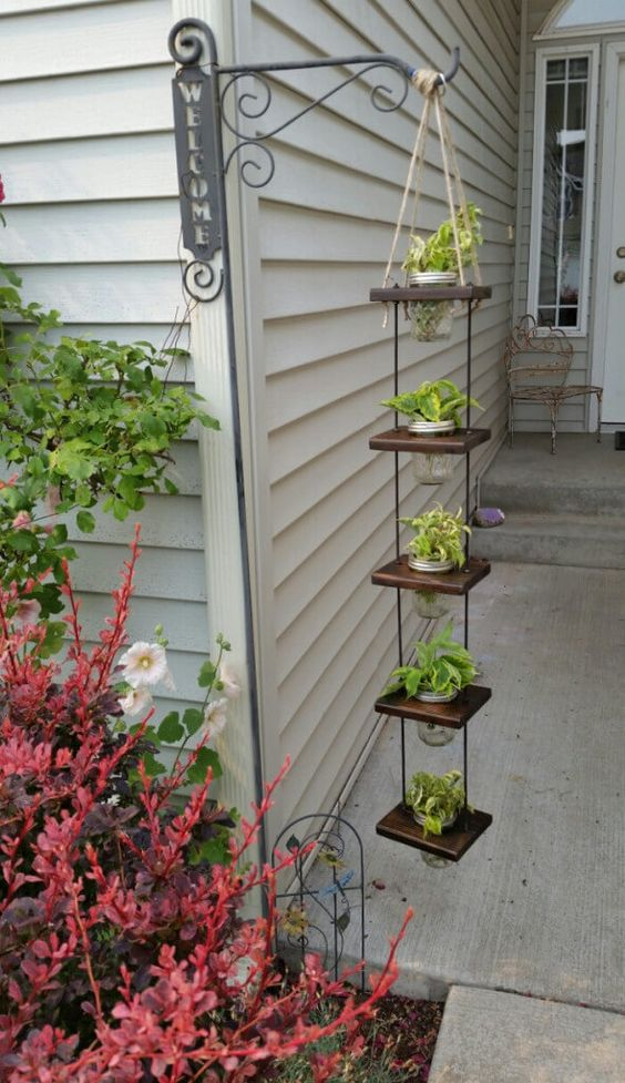 DIY 5-Tier Hanging Planter