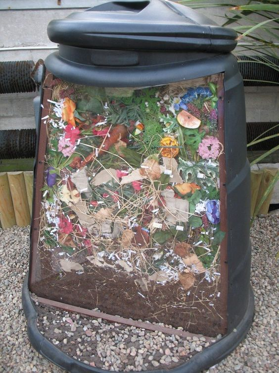 Garden Composting with Kids