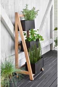 Ladder Style Planter Stand