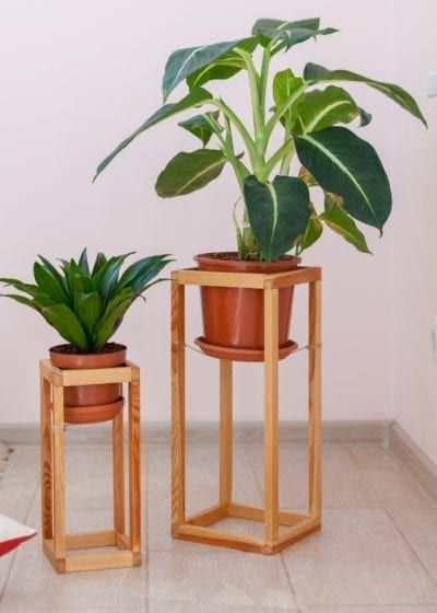 Simple DIY Planter Stand